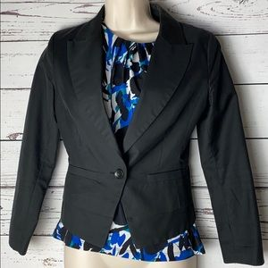 Hinge blazer xs fitted waist cropped Nordstrom